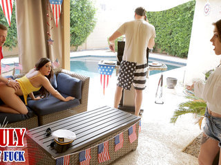 Fourth Of July Family Penetrate